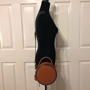 AnnieJewel Brown/ camel circle cross body bag